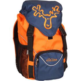 Elkline Tragichselbst Ryggsäck Barn orange/blå